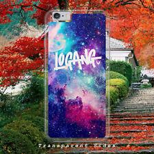 LOGAN PAUL MAVERICK LOGANG/SPACE/GALAXY/HARD PLASTIC/PHONE CASE/COVER FOR IPHONE