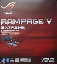 ASUS ROG RAMPAGE V EXTREME/U3.1 LGA 2011-v3 Intel X99 SATA 6Gb/s USB 3.1 EATX