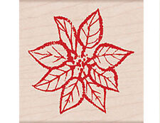 """HERO ARTS """"PAPER INKED POINSETTIA"""" RUBBER STAMP"""