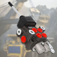2 Spool 11 Gpm Hydraulic Directional Control Valve Tractor Loaderjoystick 40lm