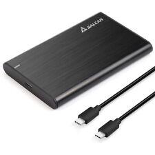 Alu USB 3.1 Festplattengehäuse 2,5 Zoll Externes Gehäuse UASP Festplatte USB C