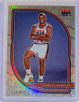 2020-21 Prizm USA Basketball Charles Barkley Silver Prizm  SP #2🔥