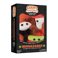 Giant Microbes Plush Toy Soft Original Gift Box Educational Biohazards Set of 5