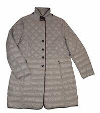 WHITE LABEL Damen Steppjacke Hellgrau Größe 44, wärmend, sehr leicht, geknöpft
