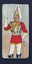 LAMBERT & BUTLER - TYPES OF THE BRITISH ARMY & NAVY (BLACK BACK) - 1 CARD