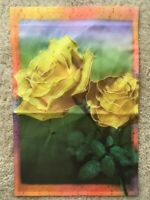 Yellow Roses Decorative Garden Flag