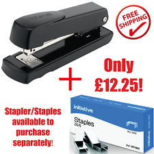 More details for rexel meteor black stapler and/or no56 26/6 staples pack of 5000