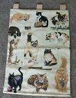 Curious Kitten/ Cat Tapestry/Wall Hanging by Linda Pickens