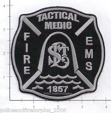 Missouri - St Louis MO Tactical Medic Fire EMS Fire Dept Patch - Subdued