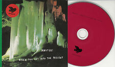 MOSTER! When You Cut Into The Present 2015 Norwegian 5-track promo CD