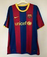 FC BARCELONA 20102011 HOME FOOTBALL JERSEY CAMISETA SOCCER MAGLIA SHIRT