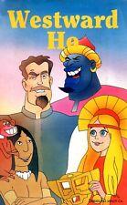 Westward Ho (0) VHS Formula Home Video Cartone animato Charles Kingsley