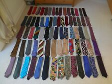 Collection Of Men's Silk Ties. Some Designer Label. Good Condition.