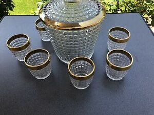 Bowle Kristall Bowleservice Bleikristall Bowleset Service