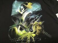 Fright Crate Horror T-shirt Tee Alien Horror Movie  Sizes Med to 2Xl