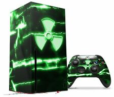Skin Set for XBOX Series X Radioactive Green