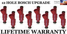 8X 12 Hole Upgraded Bosch Fuel Injectors for Ford F-150 E-150  E250 4.6L V8
