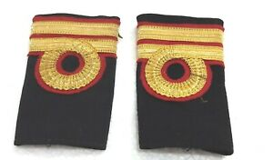 Marine Merchant Navy Aviation Ranking 2nd Lieutenant Commander Uniform Epaulets