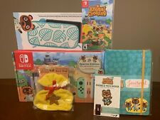 Nintendo Switch Animal Crossing Special Edition Console And Game System BUNDLE