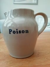 Stoneware Poison Jug Excellent Condition