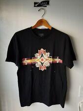Pendleton Aztec Print T Shirt Mens Black Southwest Graphic Tee Navajo sz Small S