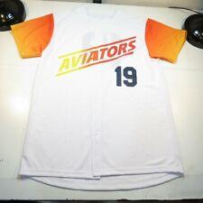 NEW LAS VEGAS LV AVIATORS 51's MINOR LEAGUE BASEBALL JERSEY Sz Mens M
