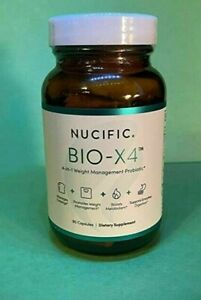 Nucific Bio-X4 4-in-1 Weight Management Probiotic Brand New And Sealed!