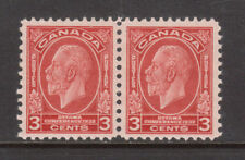 Canada #192i Very Fine Never Hinged Pair Left Stamp Has Broken E Variety