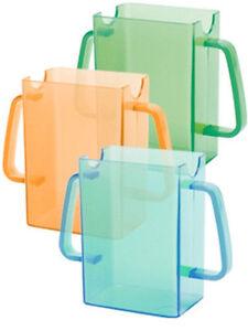 2 Pack Mommy's Helper Juice Box Bag Pouch Holder Buddies Orange Green Blue 79236