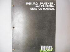 Artic Cat Snowmobile  Factory Service Repair Shop Manual 85 Jag Panther Pantera
