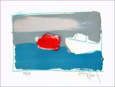 Victor HASCH - Lithographie Originale signée/num au crayon, 28x38cm, Port Cannes