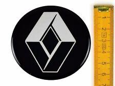 RENAULT ★ 4 Stück ★ SILIKON Ø65mm Aufkleber Emblem Felgenaufkleber Radkappen