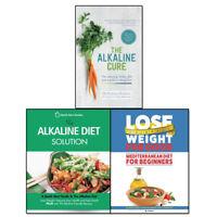 Alkaline Diet Solution, Alkaline Cure and Mediterranean Diet 3 books set pack
