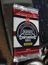 2011 panini contenders nfl guaranteed autograph card hot pack football 1 hit