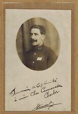 Carte Photo prisonnier de guerre 24e RI infanterie Paris Bernay m0254