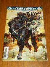 BATMAN ALL STAR #2 DC UNIVERSE REBIRTH VARIANT NM (9.4)