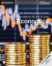 Cambridge International As And A Level Economics Coursebook With Cd-Rom (camb...