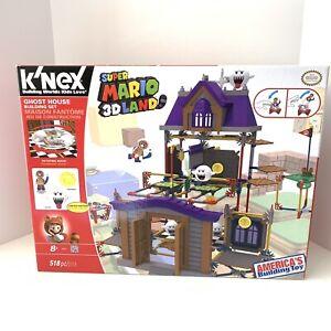 K'NEX Nintendo Super Mario 3D Land Ghost House Building Set with Boo NEW NIB