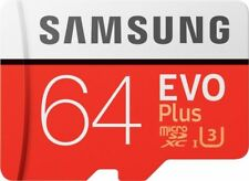 Samsung New plus 64GB micro SD SDHC Class 10 UHS-3 memory card Upto 100MB/S