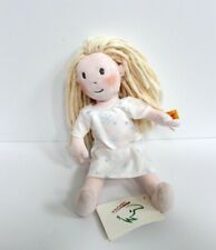 Steiff Lilly Tabaluga Doll Stuffed Plush Toy 11 inch #024337- Pale Pink