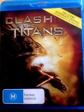 CLASH OF THE TITANS -BLU-RAY -USED -