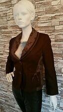 "Women's Jacket by ""Steilmann"" Designers coffee Brown Size 12"