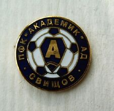 pin badge sport football club PFC Akademik Svishtov 1949 Bulgaria