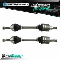 Pair Front CV Axle Shaft for 2002-2008 2009 Chevy Trailblazer GMC Envoy 4WD AWD