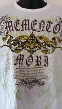 Men's Graphic designed fashion Tee, ( 30 Single Light Weight ) White Sz S,M.L