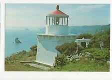 Trinidad Head Lighthouse California USA Old Postcard 351a ^