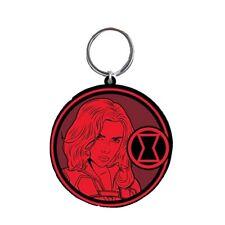 Genuine Marvel Comics Black Widow Rubber Keyring Key Fob Natasha Romanova