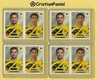 ⚽️4x Panini Fifa 365 RAPHAEL GUERREIRO/ JUDE BELLINGHAM Sticker Nr. 173 Dortmund