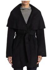 T Tahari Marilyn Cape Overlay Wool Blend Coat NWT Size XL