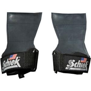 Schiek Sports Model 1900 Ultimate Grip Weight Lifting Straps - Black
